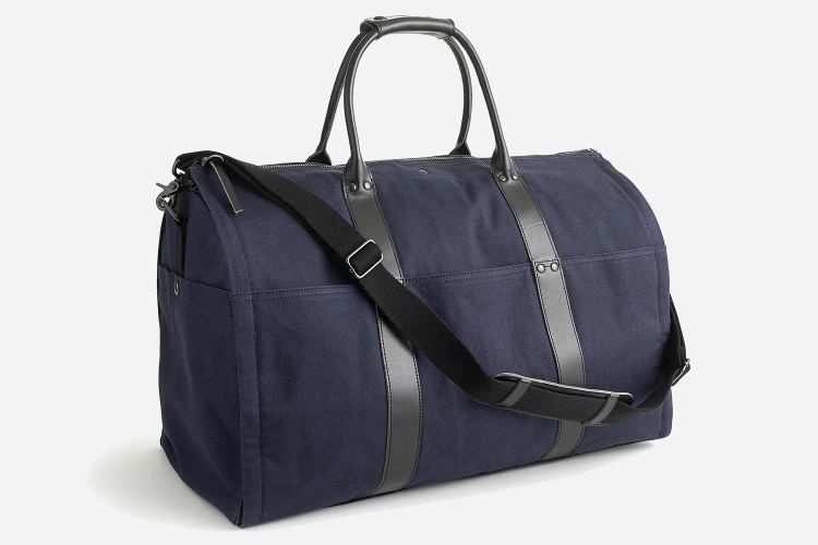 Discount Code for J.Crew Ludlow Garment Duffel Bag