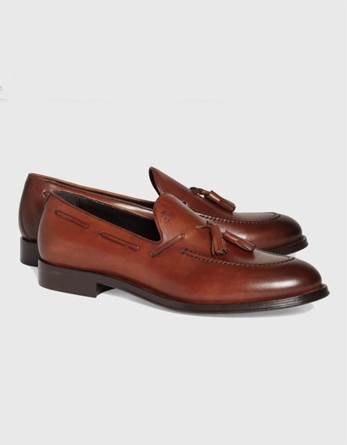 Brooks Brothers 818 Footwear Leather Tassel Loafer