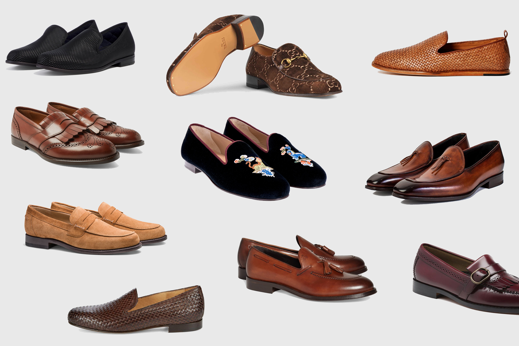 The 7 Different Styles of Loafer