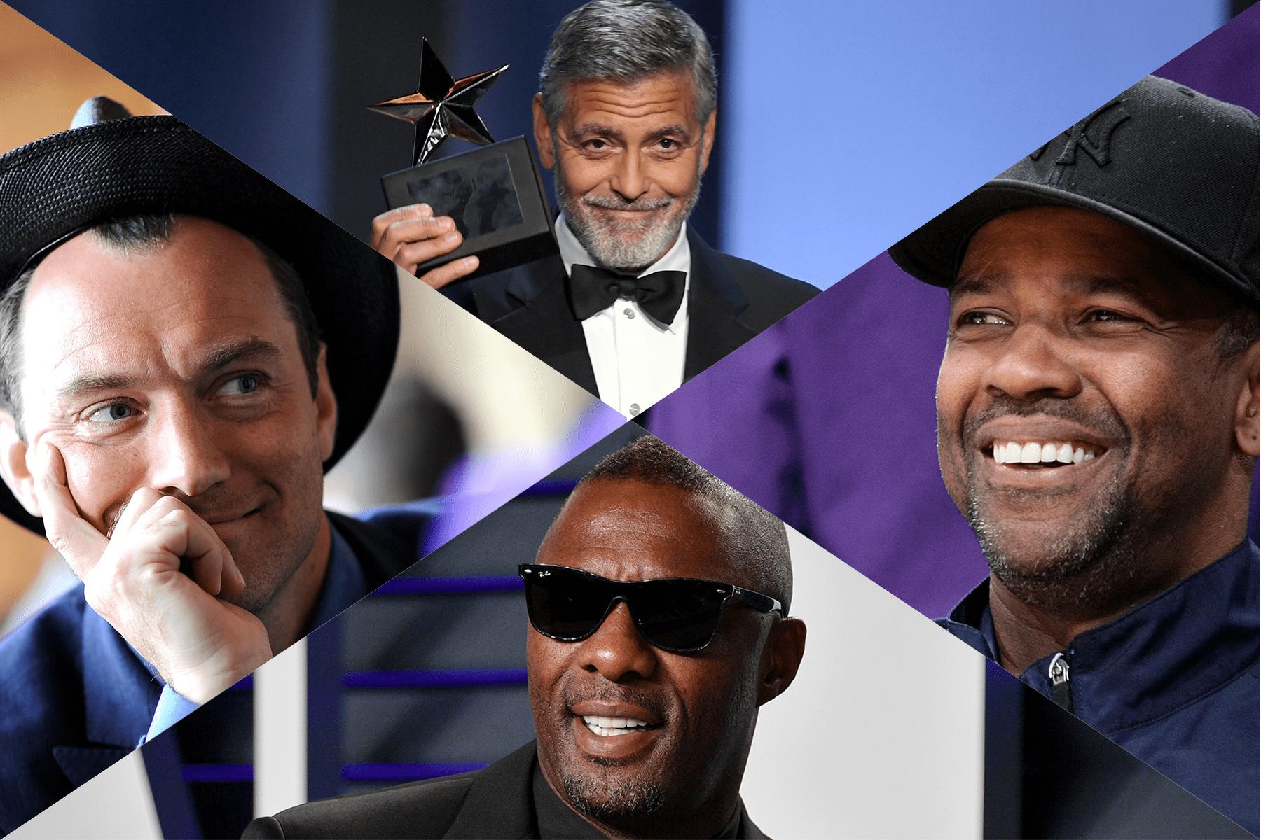 Daddies Denzel Clooney Idris Elba Jude Law