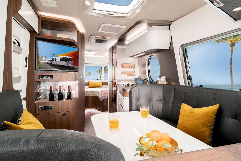 Eriba Touring 820 Camping Trailer Interior