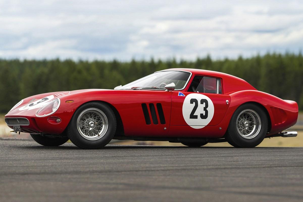 Ferrari 250 GTO Legally a Work of Art