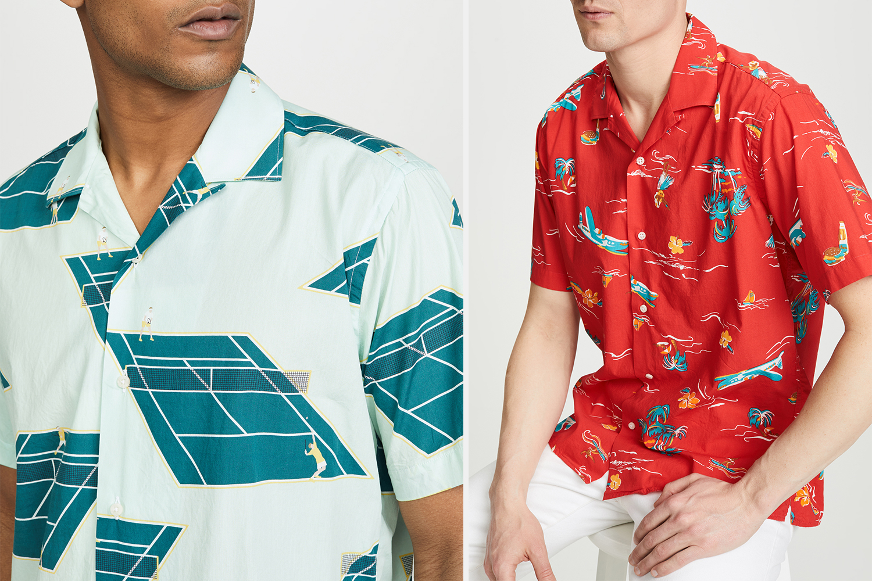 Gitman Vintage Camp Collar Shirts Sale