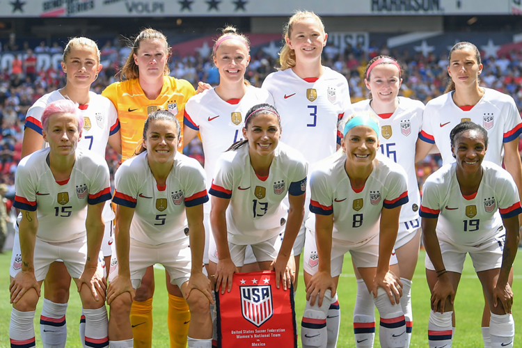 US Women's National Team World Cup