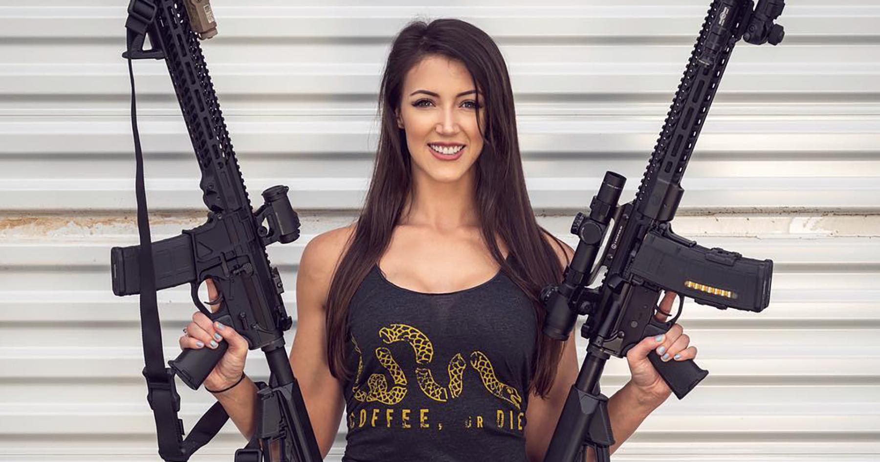 Lauren Young, one of the gun influencers taking over Instagram