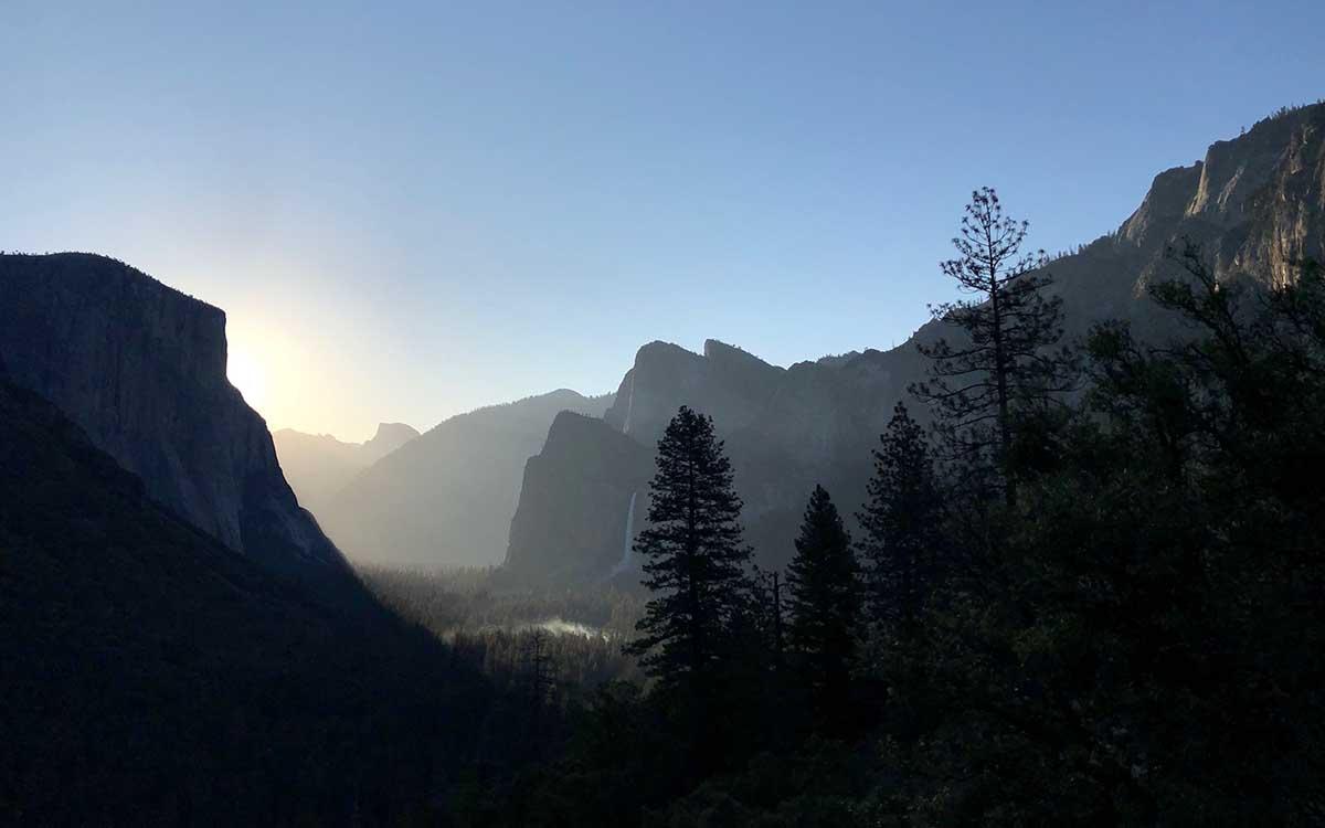 Yosemite Valley, 6AM.