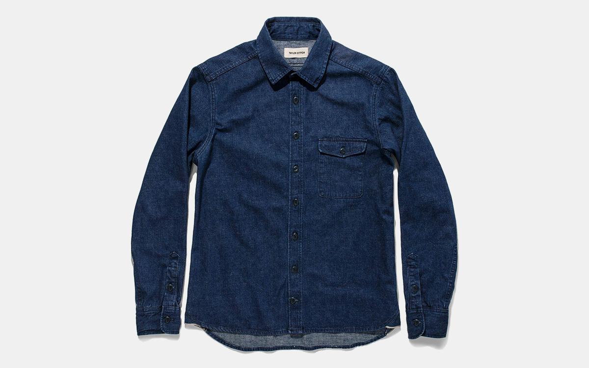 Score a Killer Deal on Taylor Stitch's Near-Perfect Denim Shirt