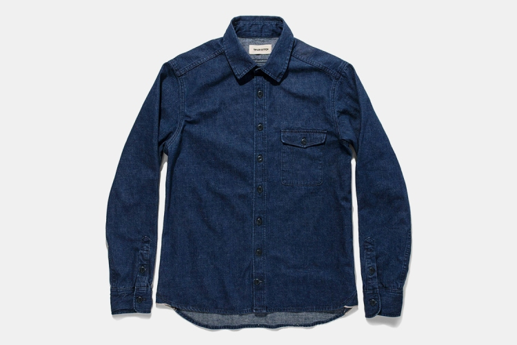 Score a Killer Deal on Taylor Stitch's Near-Perfect Denim Shirt