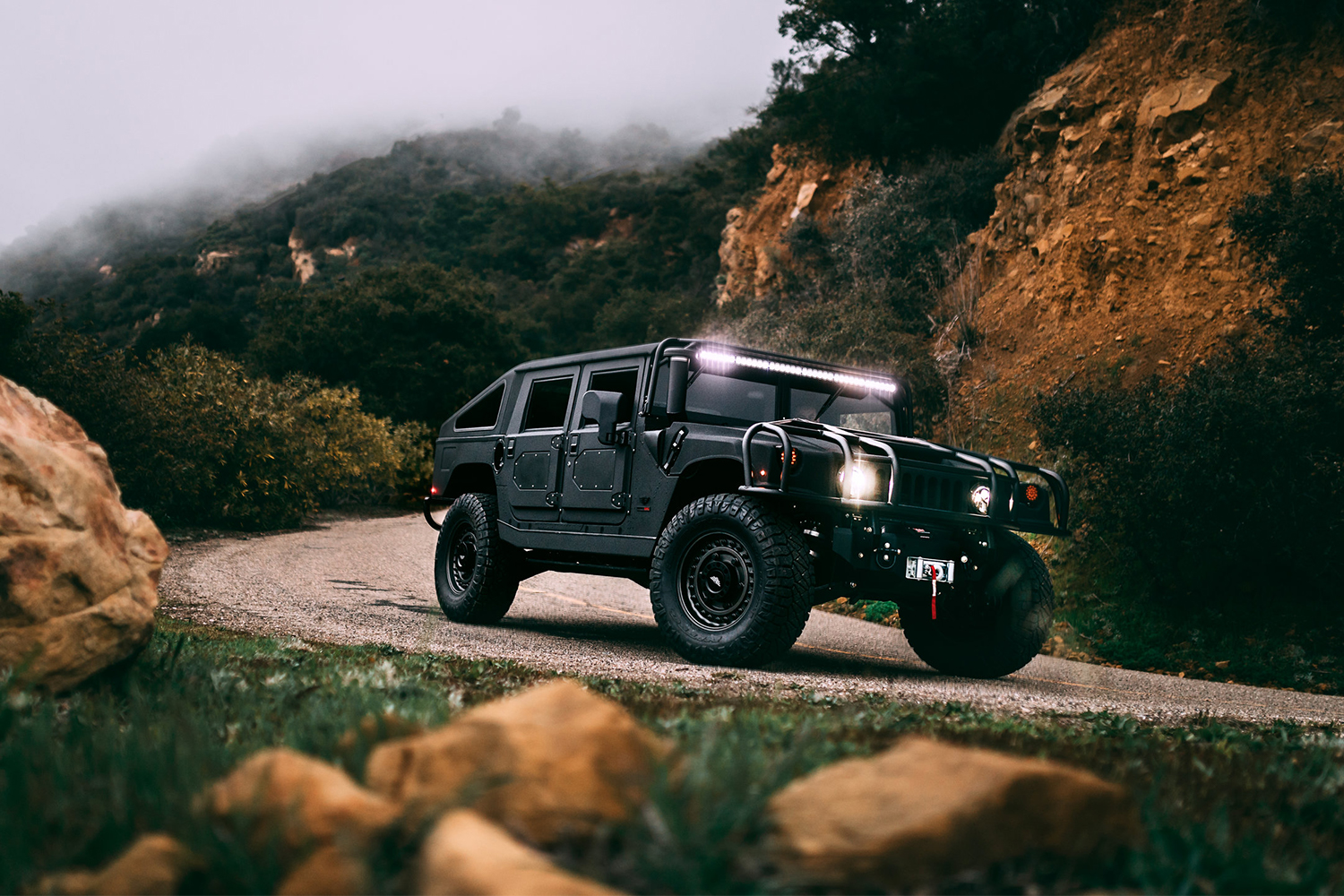 Mil-Spec Automotive Custom Hummer Launch Edition