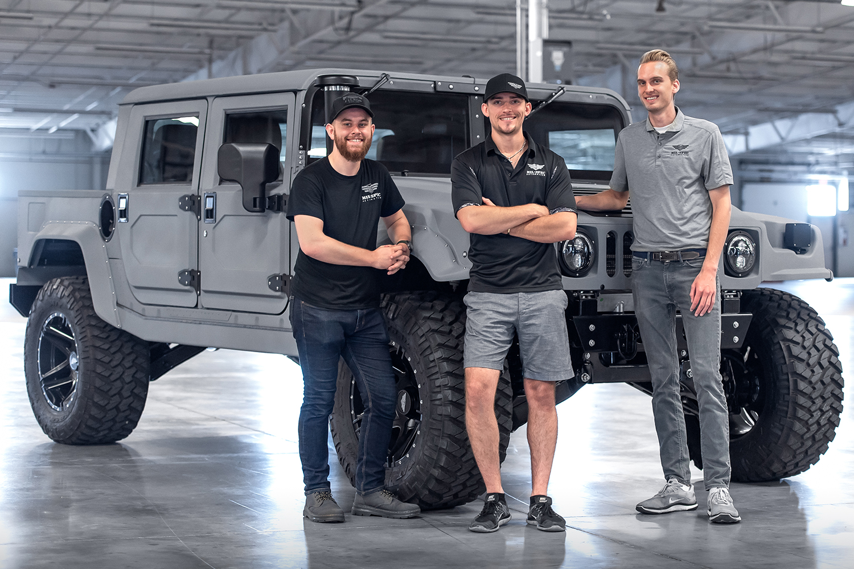 Mil-Spec Automotive Founders: Ian Broekman, Adam Mitchell, Chris Van Scyoc