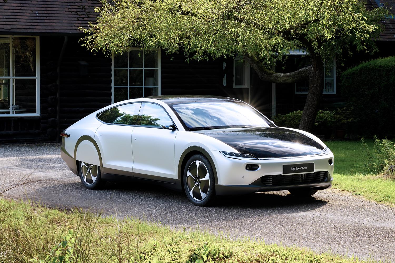 Lightyear One Solar Powered Electric Car