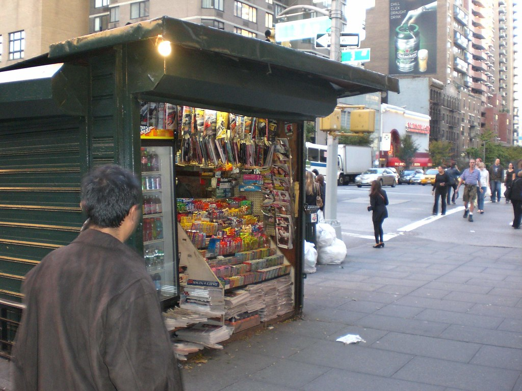 The Rise of Futuristic Newsstands, Minus Newspapers