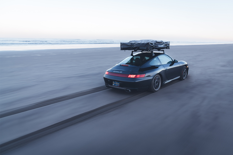 Porsche 996 911 Beach Driving