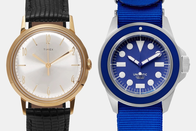 Mr Porter Watch Sale Unimatic Timex