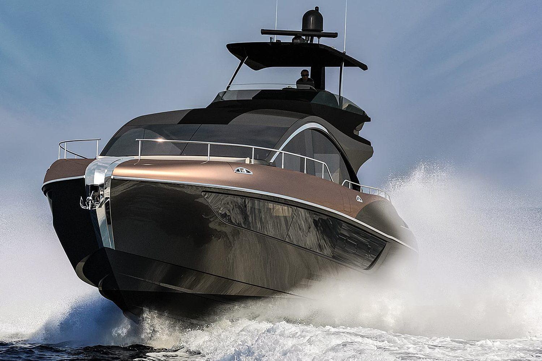 The LY 650 yacht. (Lexus)