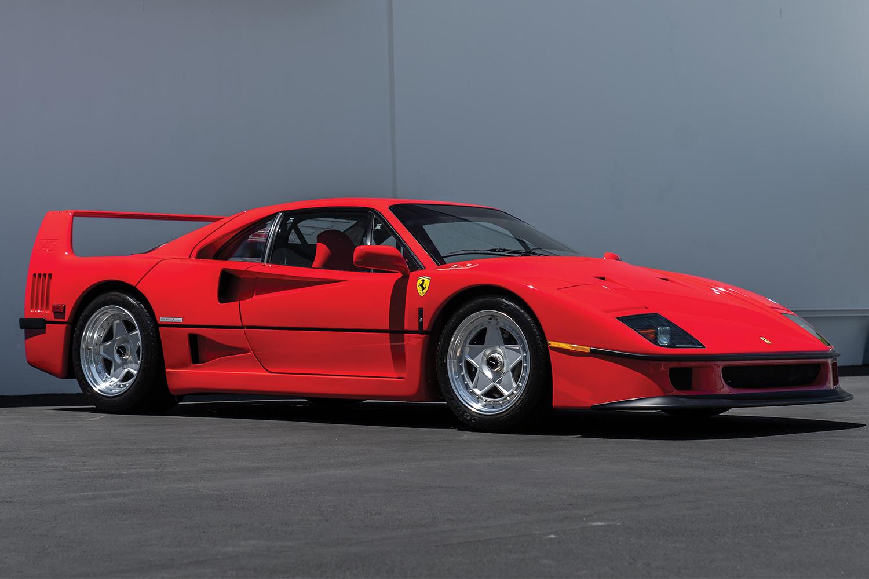 1991 Ferrari F40 Auction Monterey RM Sotheby's