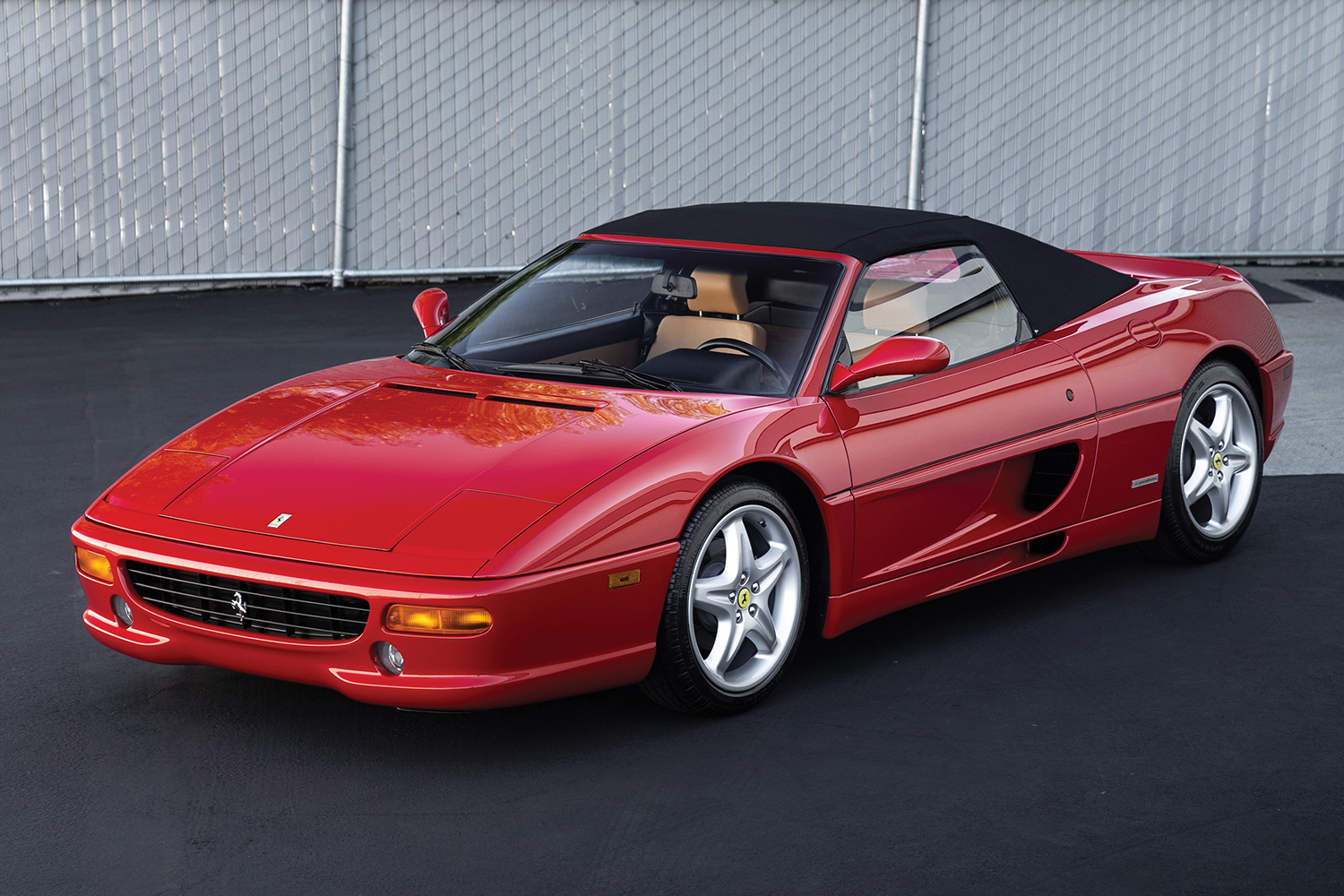1997 Ferrari F355 Spider Ming Collection Auction