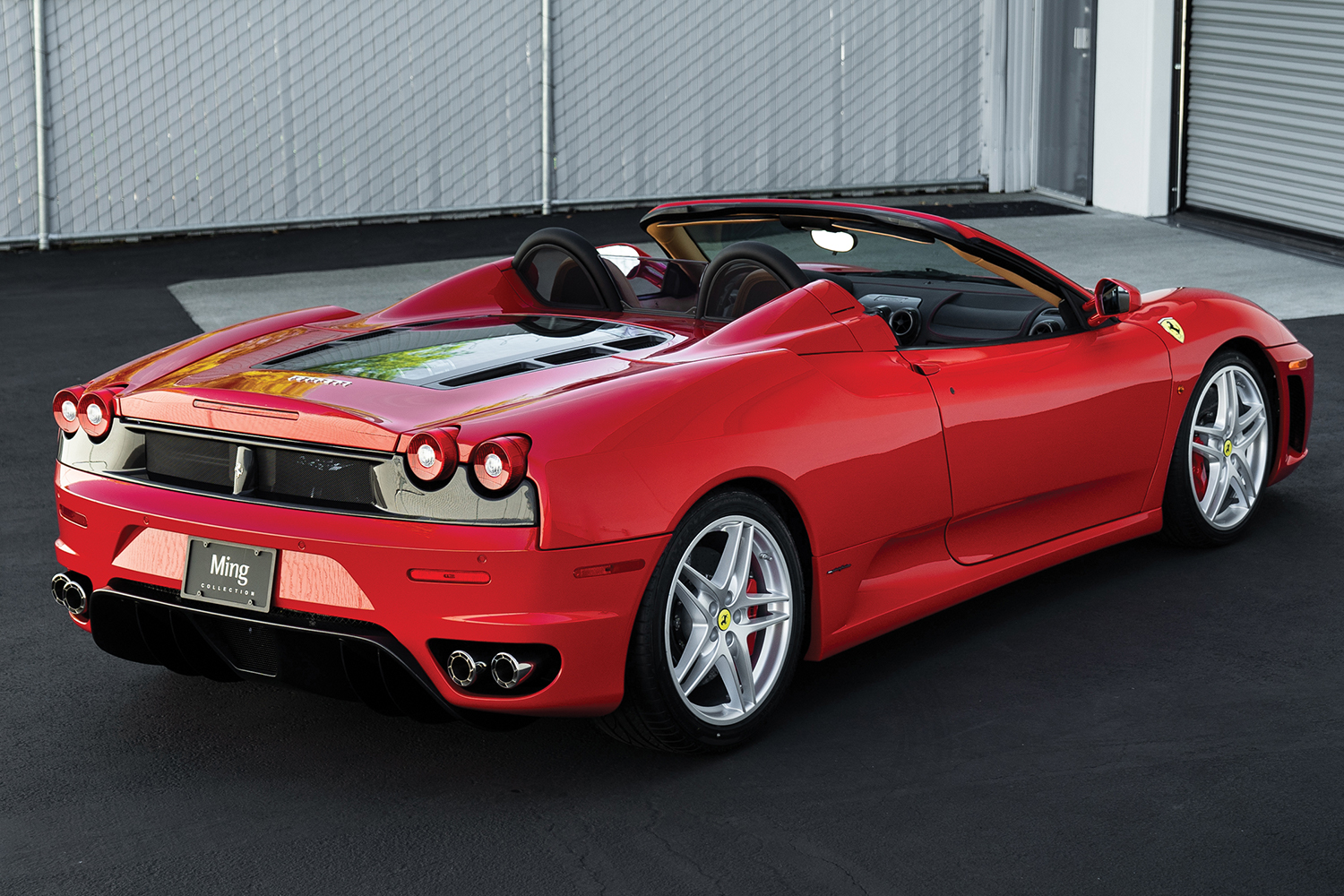 2007 Ferrari F430 Spider F1 Auction Monterey Ming Collection