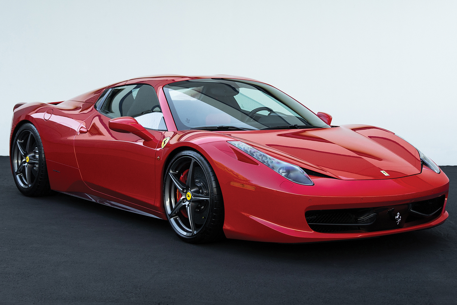 2013 Ferrari 458 Spider Auction Monterey RM Sotheby's