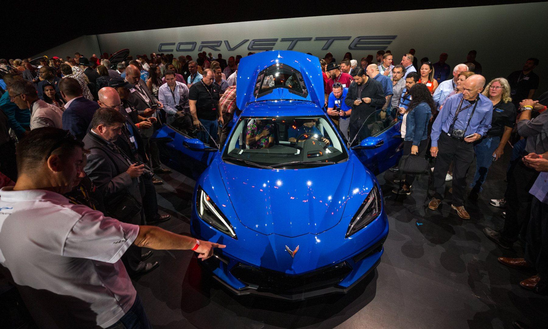 2020 Chevrolet Corvette Stingray C8 sports car