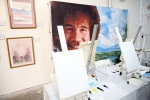 Want to get your hands on a Bob Ross painting? Too bad.