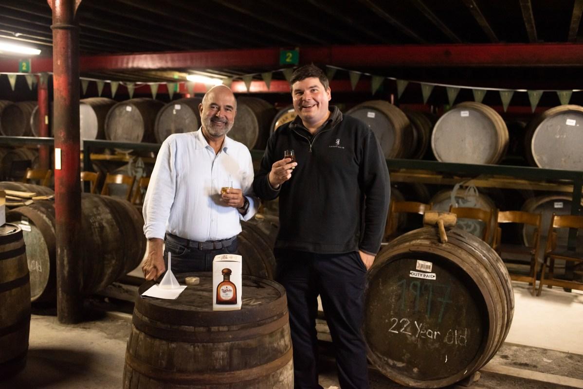 Enrique de Colsa and Colin Gordon Taste Tequila Don Julio Reposado, Double Cask