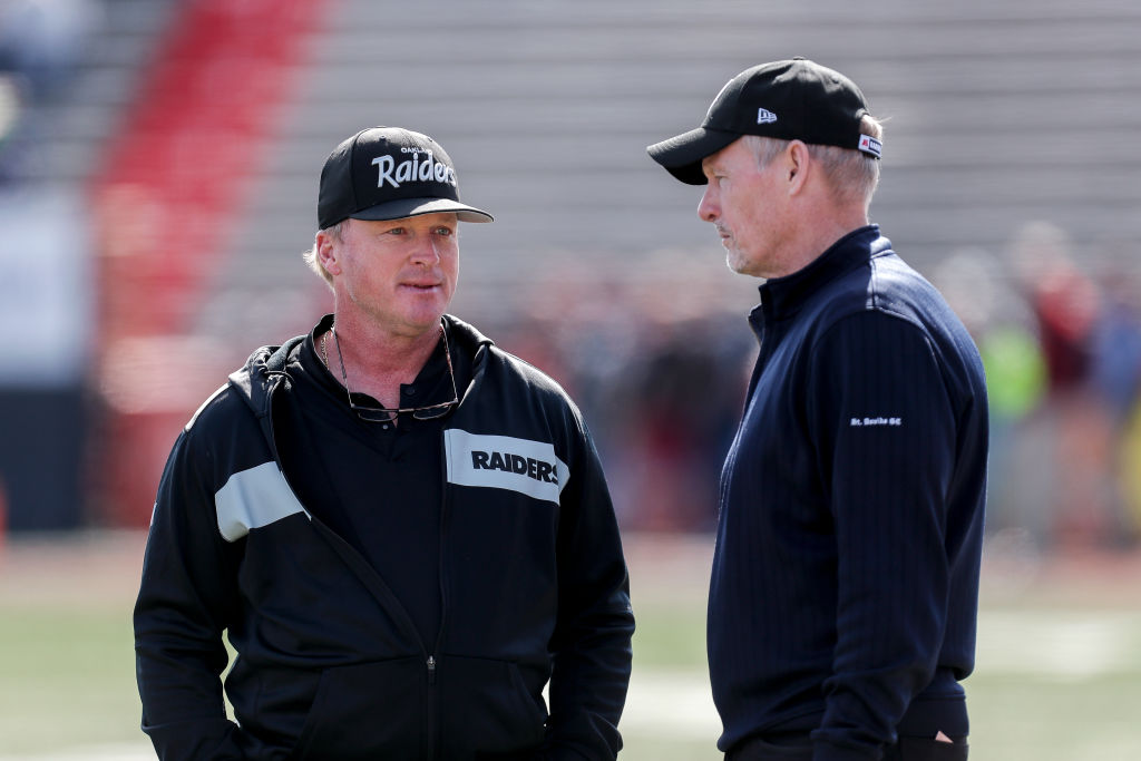on Gruden and Mike Mayock