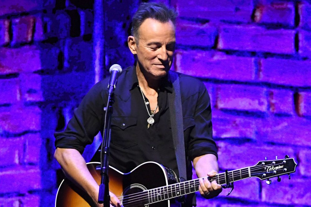 Bruce Springsteen performs at Netflix FYSEE Opening Night. (Kevin Winter/Getty)