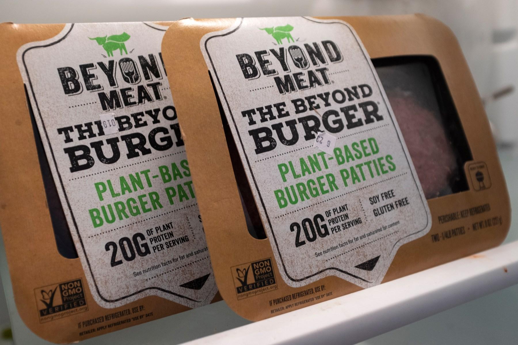 Meatless Burger Maker Beyond Meat