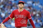 Los Angeles Angels Starting pitcher Tyler Skaggs. Jeff Chevrier/Icon Sportswire via Getty