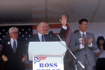 Ross Perot in 1992 (Photo by: Joe Sohm/Visions of America/Universal Images Group via Getty Images)