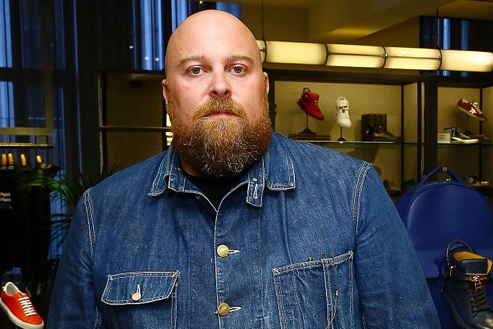 Fashion designer Jon Buscemi at Goodman's Men's Store in 2015. (Astrid Stawiarz/Getty)