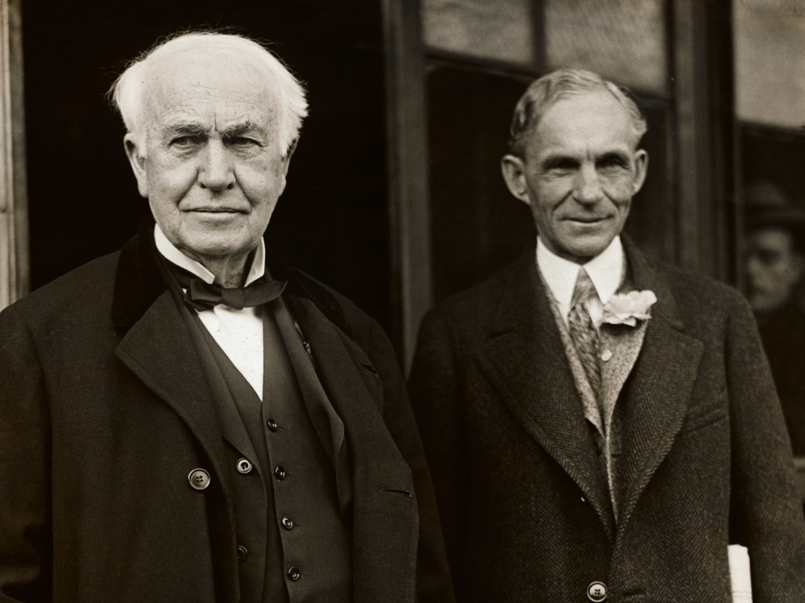 Thomas Edison and Henry Ford