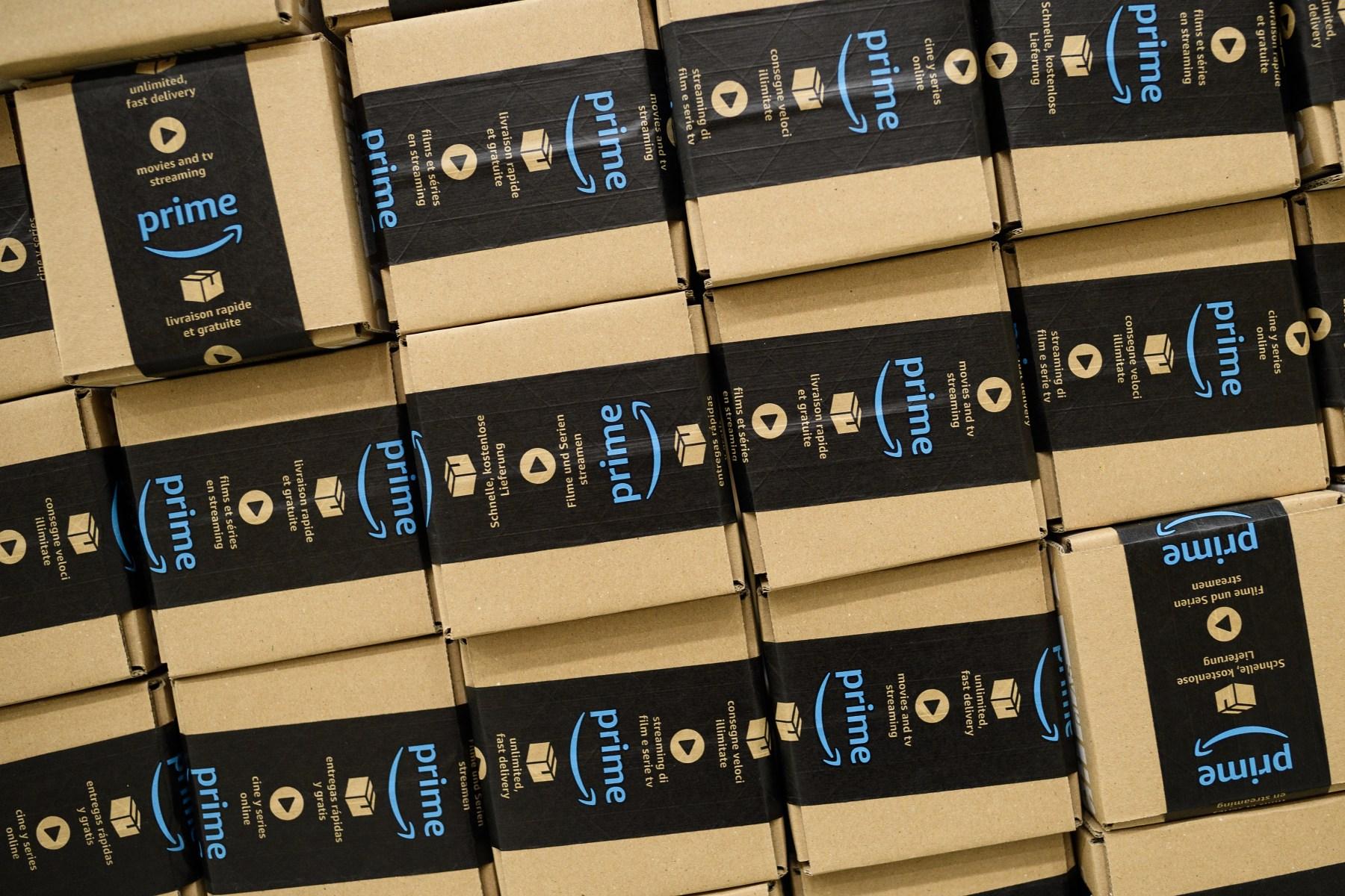 Amazon fulfillment center prime day