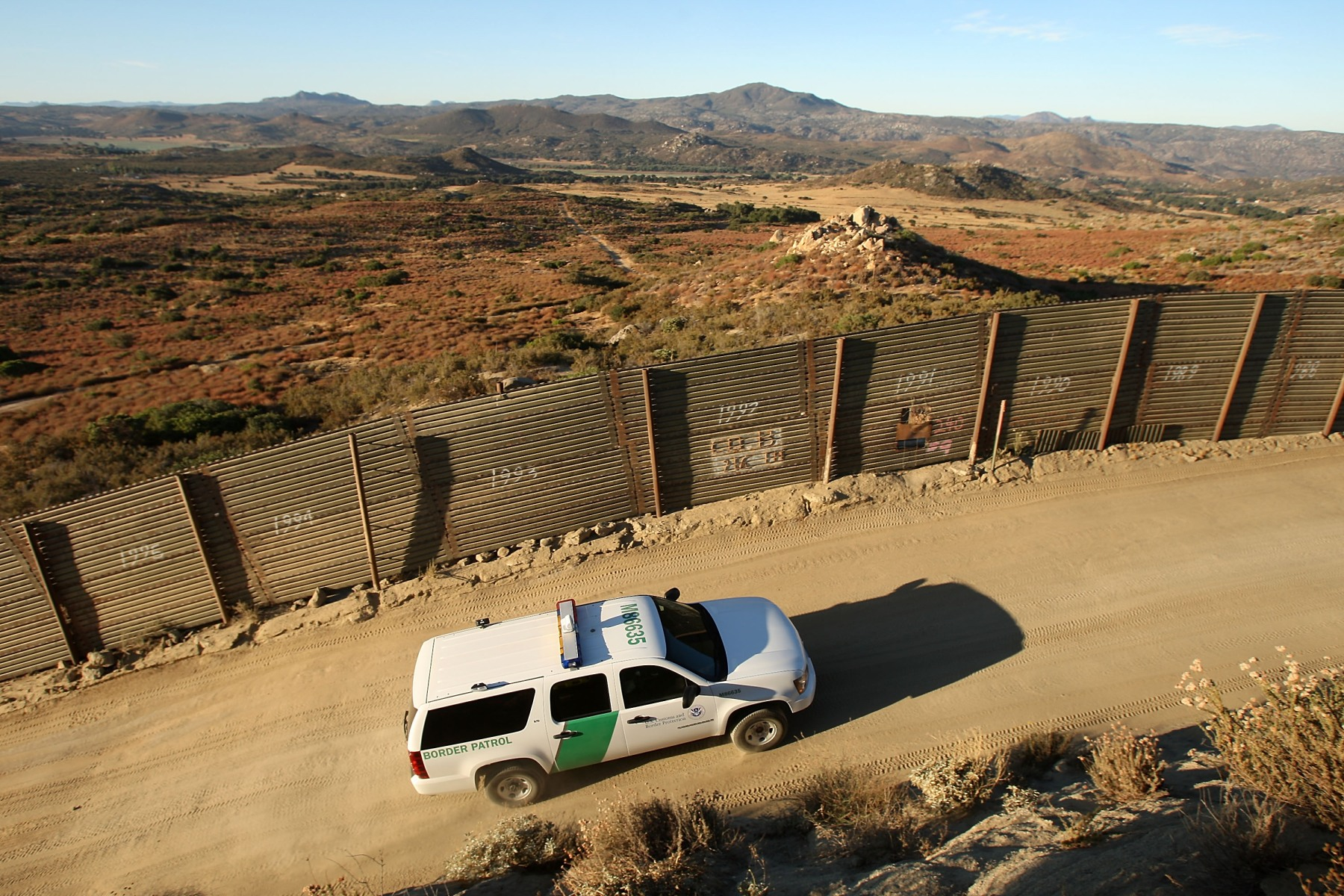 Deaths at US Mexico Border