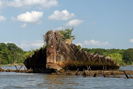How a Bunch of Abandoned WWI Boats Became America's Newest Marine Sanctuary