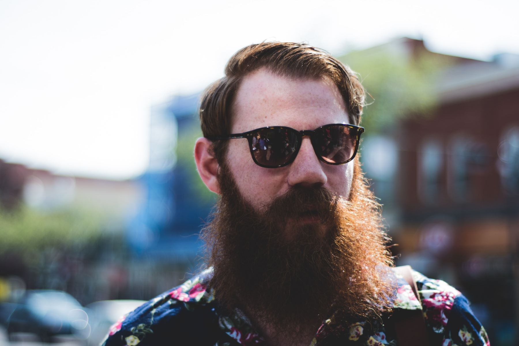 Sir, your hipster beard is holding up the line