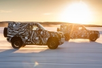 2020 Land Rover Defender testing