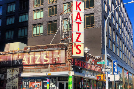 Katz's was the setting for one of the most iconic scenes in rom-com history