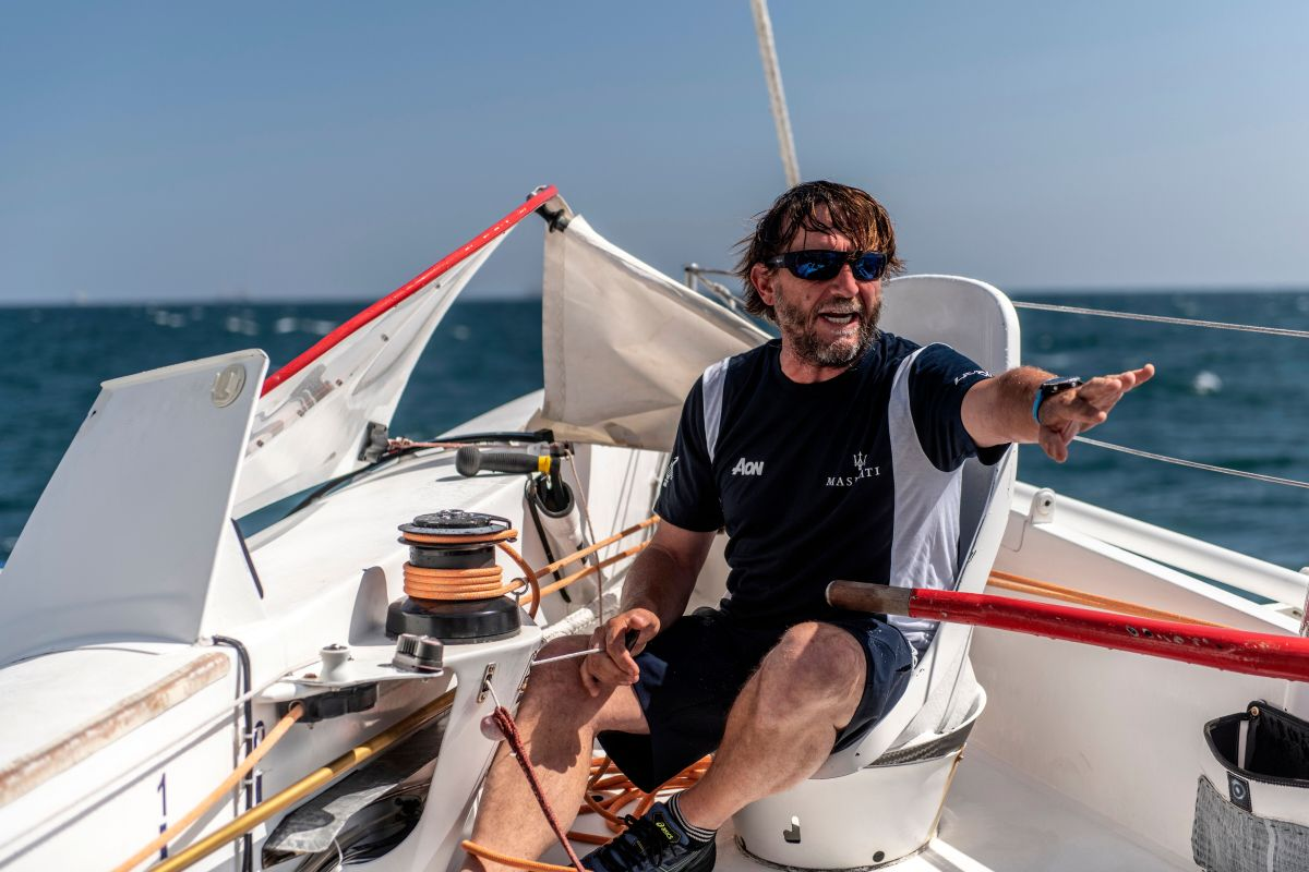 Captain Giovanni Soldini's life lessons (Courtesy of Maserati)