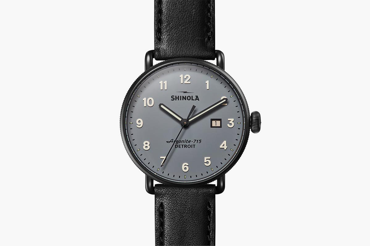 Deal: The Canfield by Shinola Is a Watch That'll Fit Any Outfit (or Occasion)