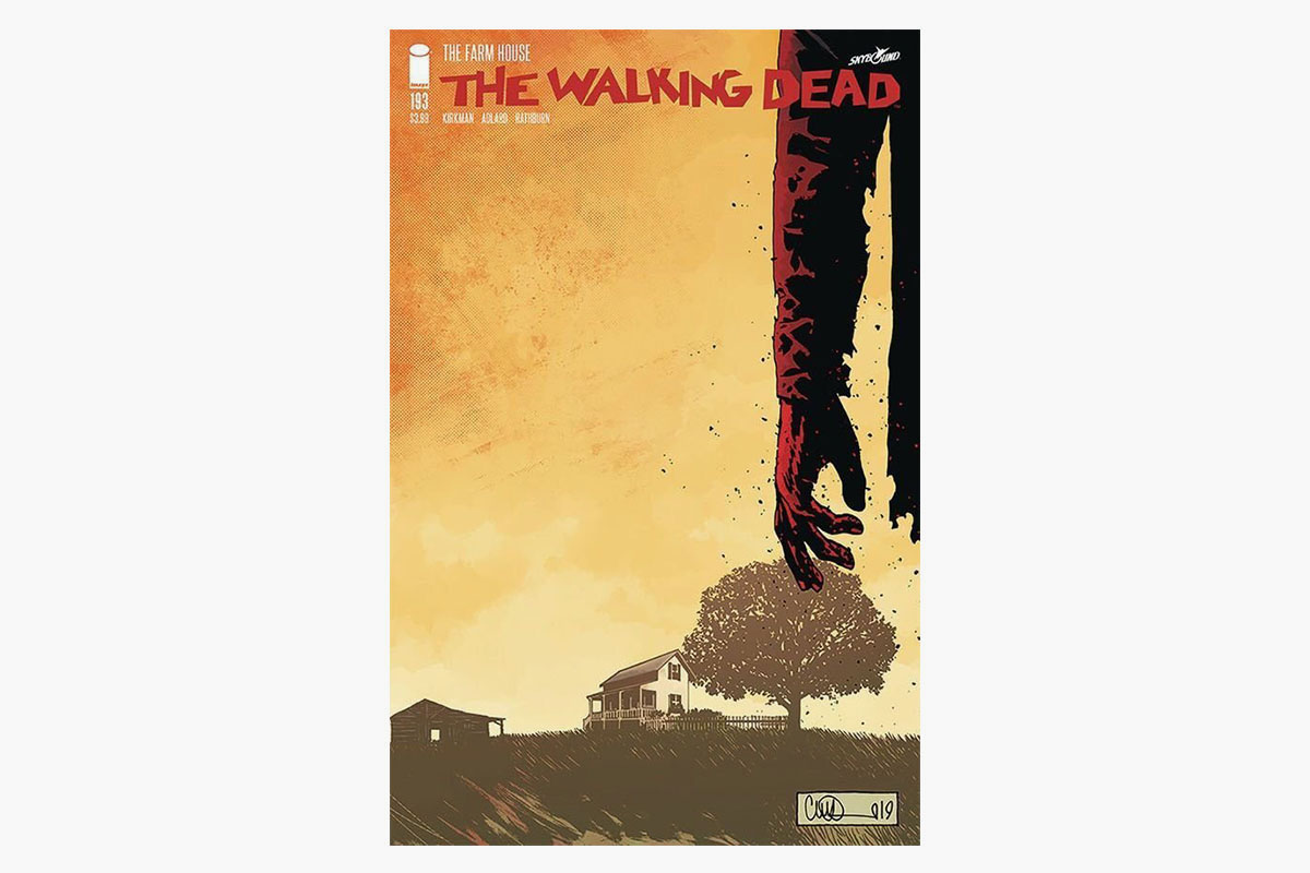 Walking Dead final issue