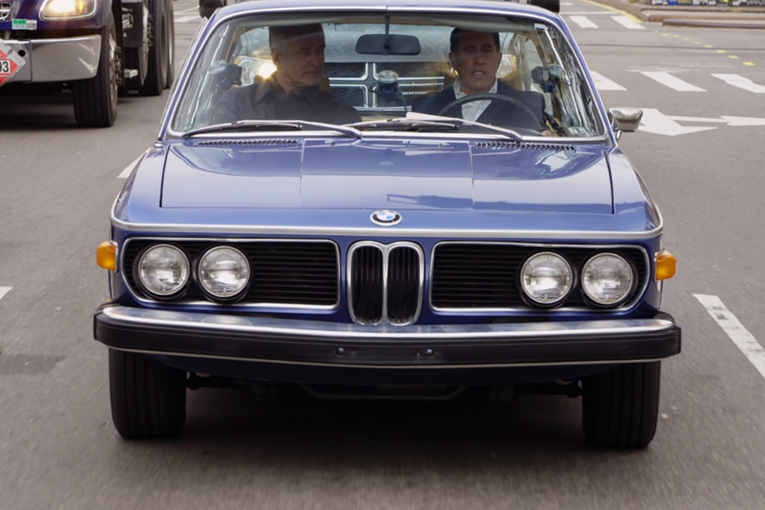 Comedians in Cars BMW 3.0 CS Alec Baldwin Jerry Seinfeld