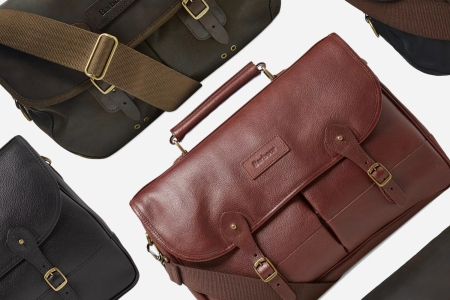 Barbour Briefcases and Shoulder Bags Discounted at End