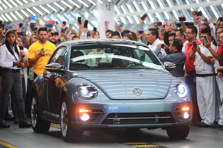 The Last Volkswagen Beetle Was Made This Week