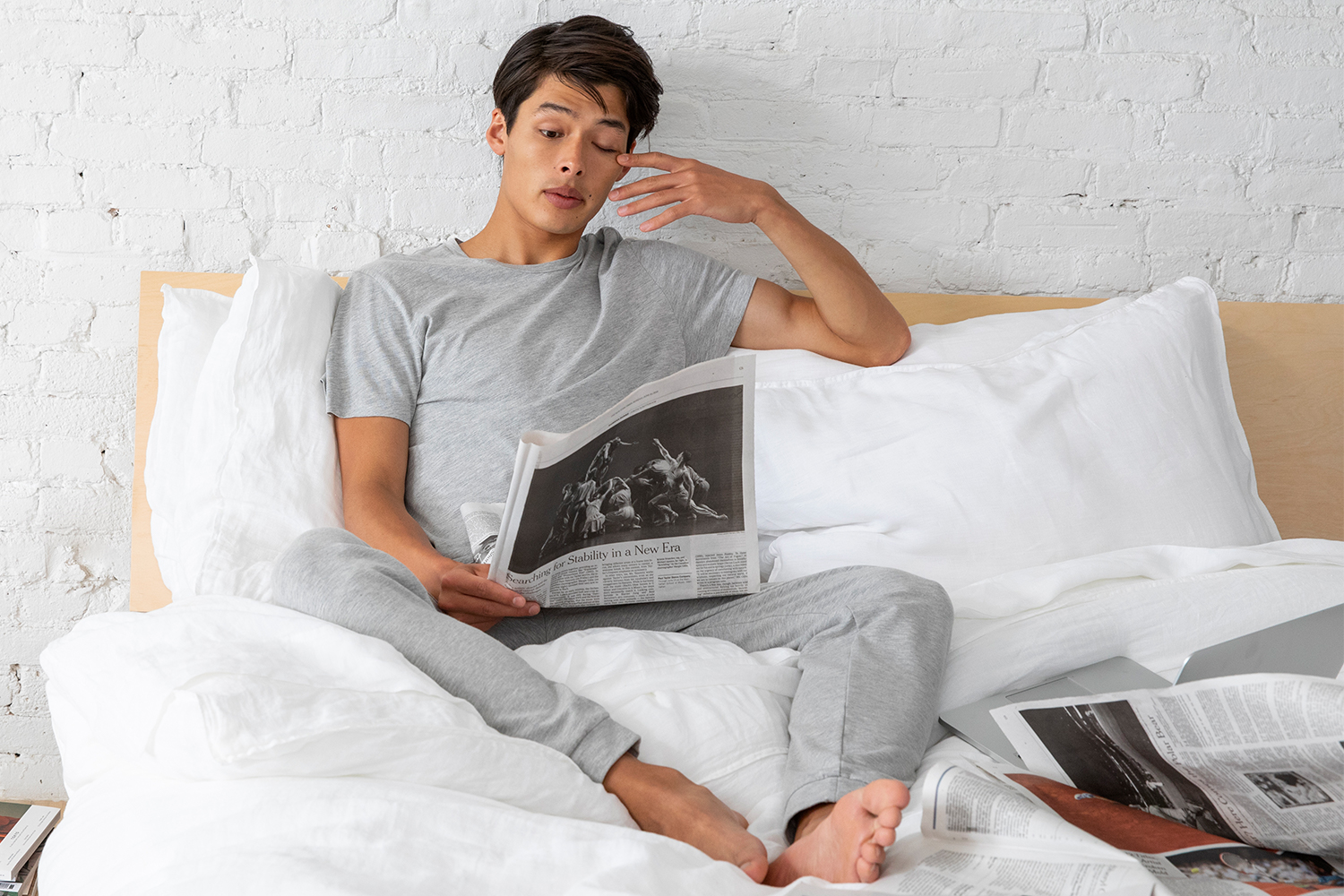 Brooklinen Launches Loungewear Collection With Joggers, Tees and More