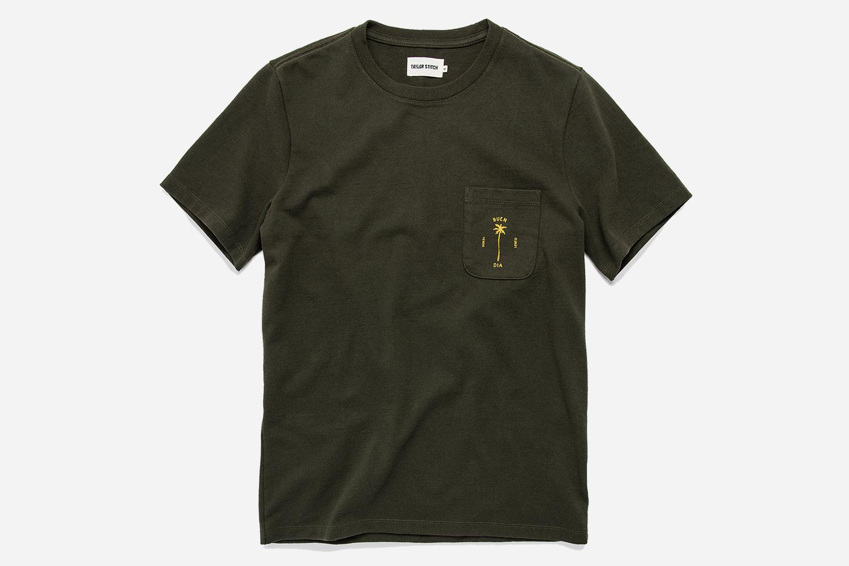 Sale on Taylor Stitch Heavy Bag T-Shirts Buen Dia