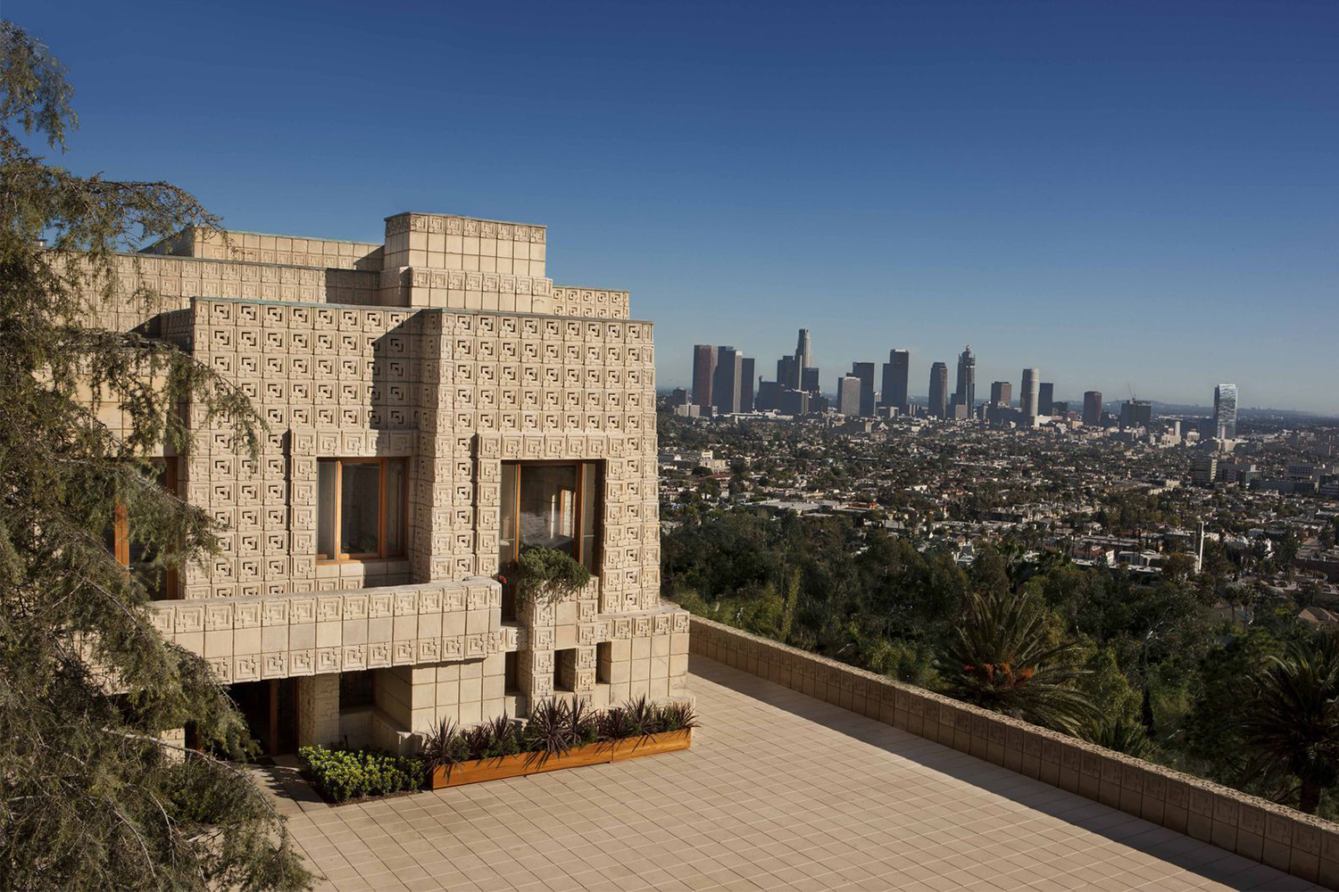 Frank Lloyd Wright Ennis House For Sale