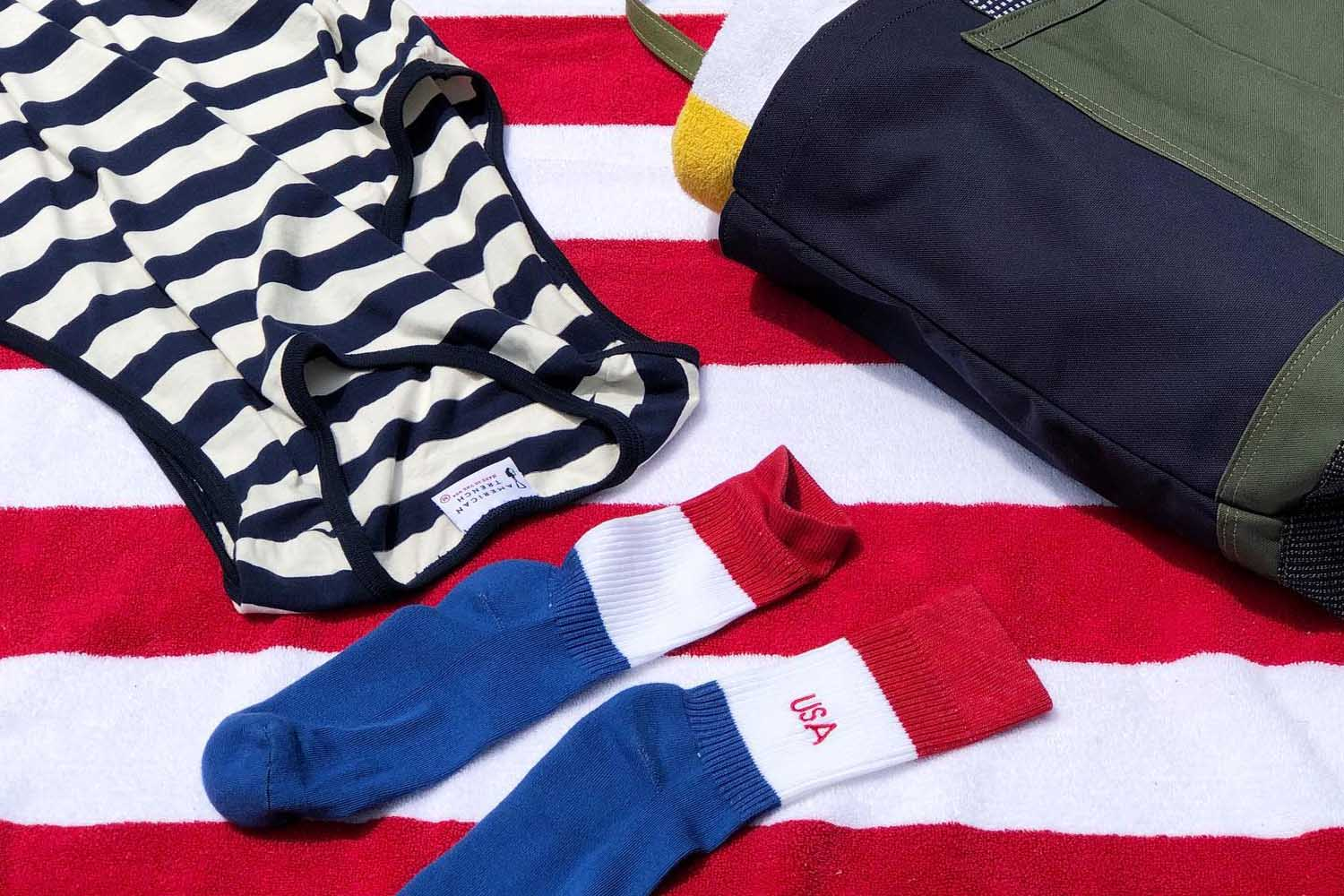 Take 20% off everything at American Trench with the promo code JULY4TH.