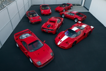 Ferrari Ming Collection Auction Monterey RM Sotheby's